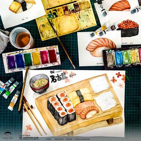Japanese Food Still Life (AF)