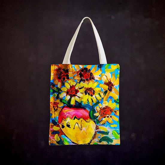 Benjaminc's Van Gogh Sunflowers Totebag