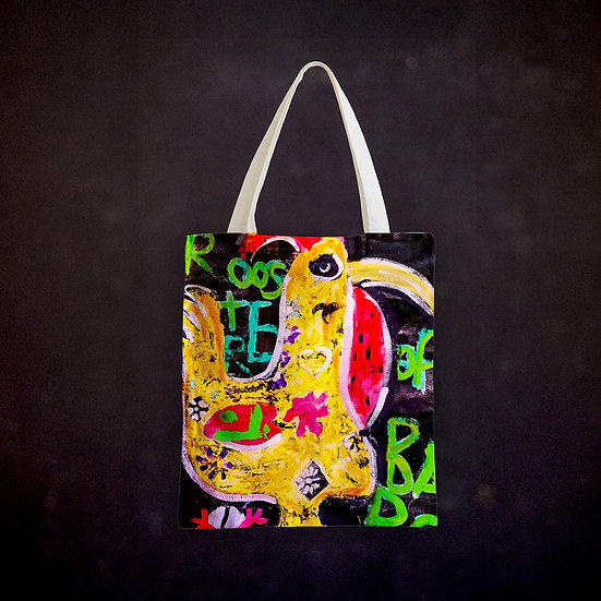 Ashleycje's Rooster of Barcelos Totebag