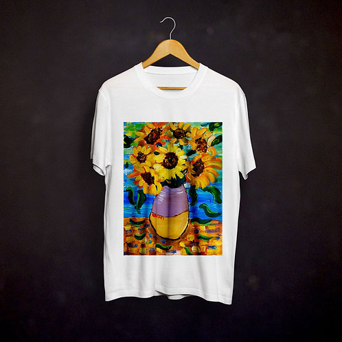 Rachel Delwyn's Van Gogh Sunflowers T-shirt