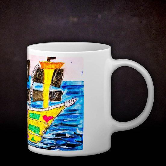 Stacey's Pirate Ship Coffee Mug