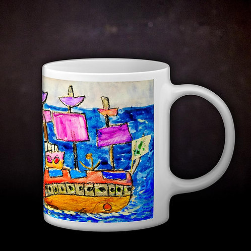Ashleycje's Pirate Ship Coffee Mug
