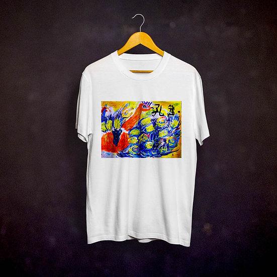 Benjaminc's Peacock T-shirt