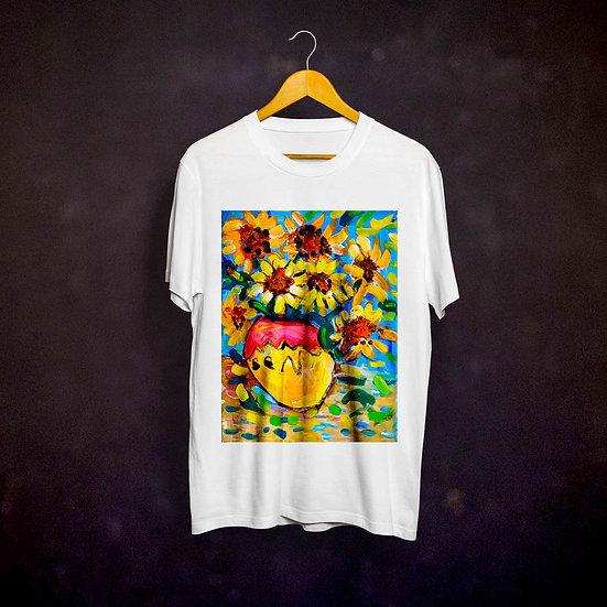 Benjaminc's Van Gogh Sunflowers T-shirt