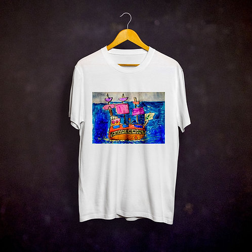 Ashleycje's Pirate Ship T-shirt