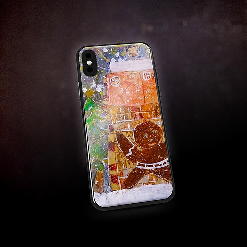 Benjaminc's Gingerbread Man Phone Case