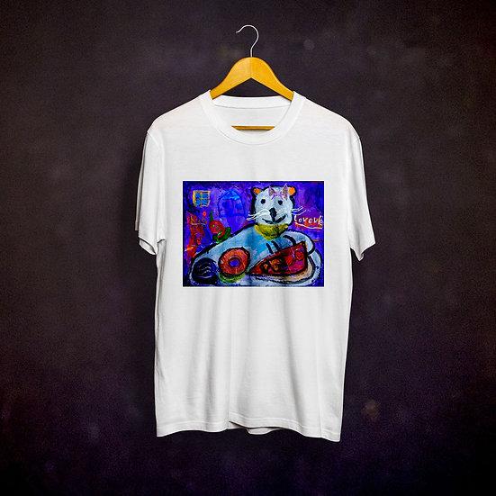 Ashleycje's Greedy Cat T-shirt
