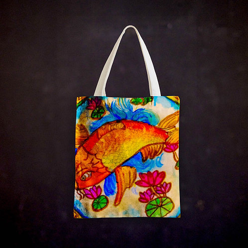 Stacey's Drumskin Totebag