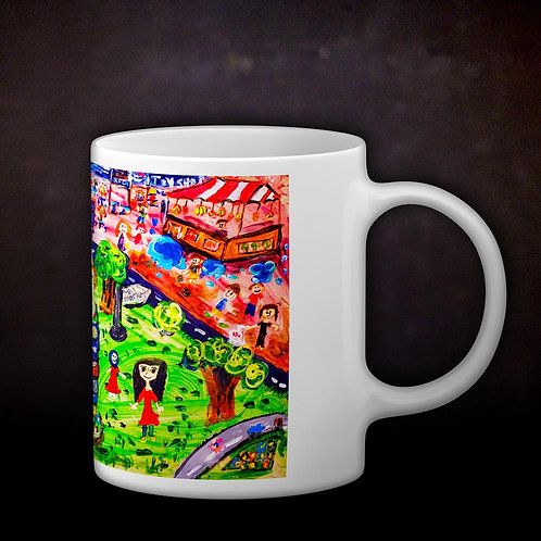 Stacey's Hawker Coffee Mug