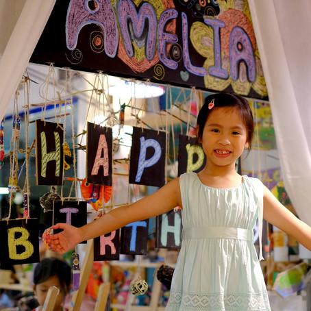 Amelia's 7th Birthday Party