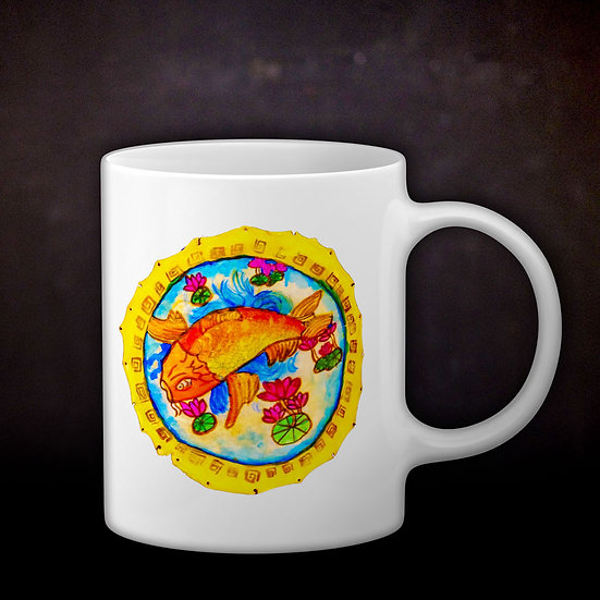 Stacey's Drumskin Coffee Mug