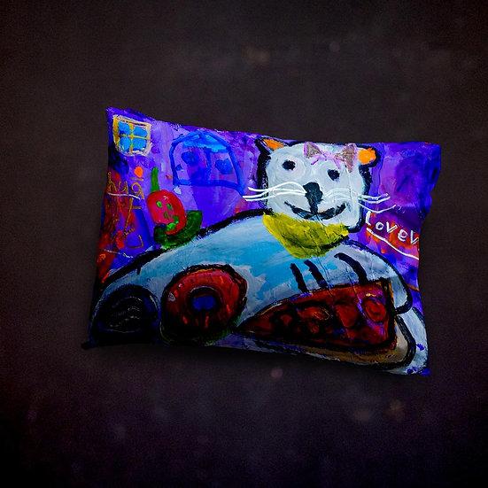 Ashleycje's Greedy Cat Pillow