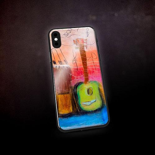 Ashleycje's Guitar Djembe Phone Case
