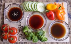 Assortment of Western Sauces