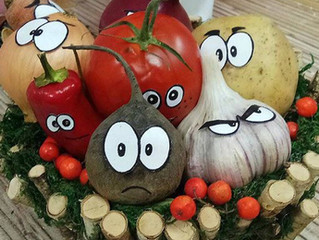 Полезные овощи. Сказка для детей от 3,5 лет
