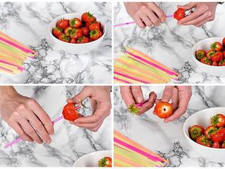 Как удалить плодоножки у клубники