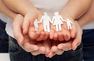 people, charity, family and care concept
