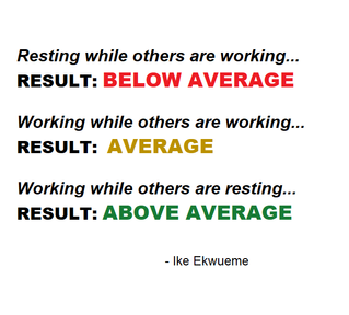 Work While They Rest