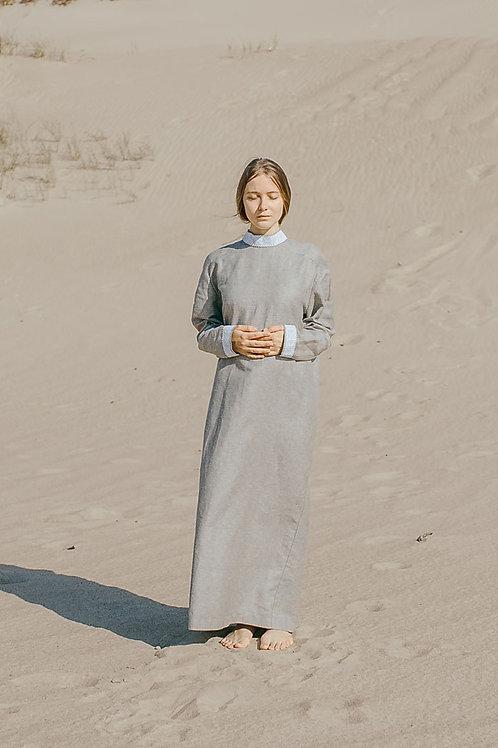 """Smėlio spalvos laidojimo suknelė """"TŮ"""""""