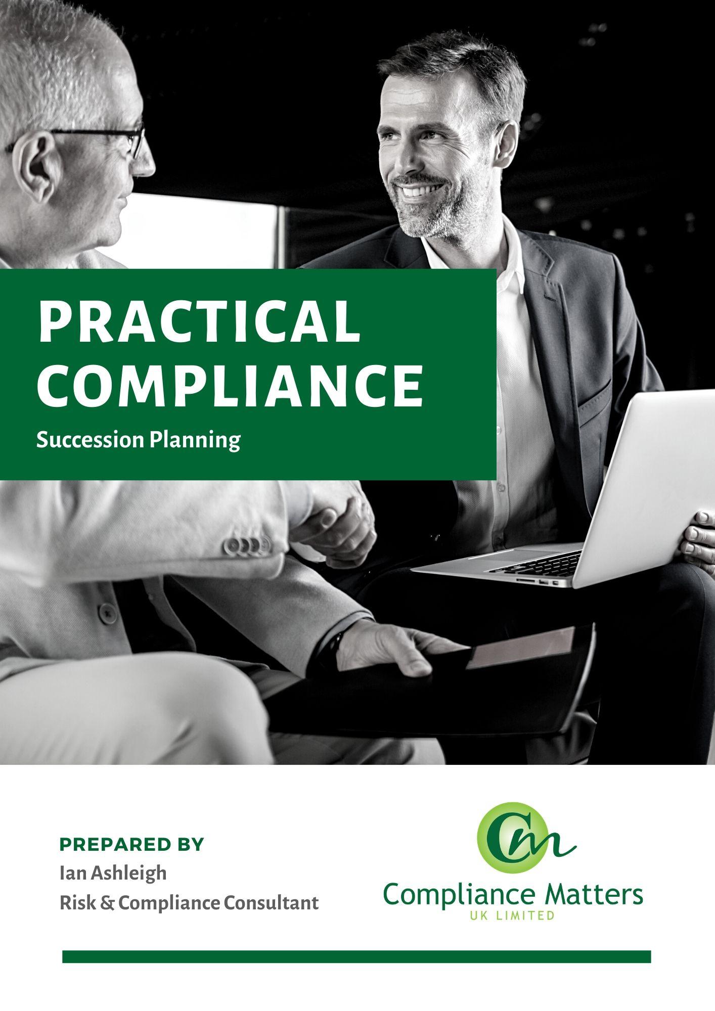 CMUK Practical Compliance - Succession P