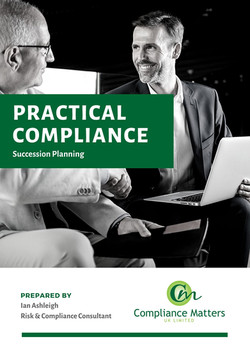CMUK Practical Compliance - Succession P