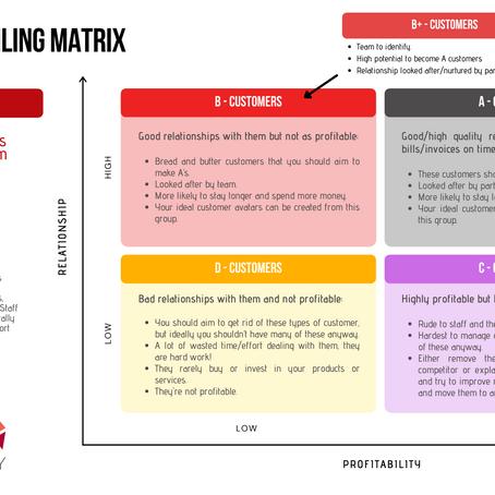 Client/Customer Profiling Part 1 – The Boston Matrix