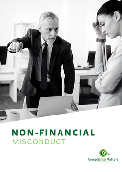 Non-Financial Misconduct Cover