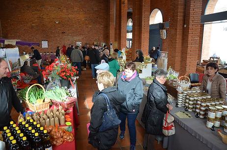 La Commingeoise produits fermiers BIO, vente Foire du Printemps et de la gastronomie l'Isle en Dodon