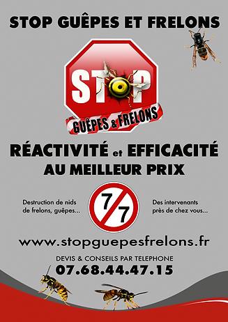 Stop guêpes et frelons