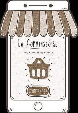La Commingeoise produits fermiers BIO, boutique en ligne