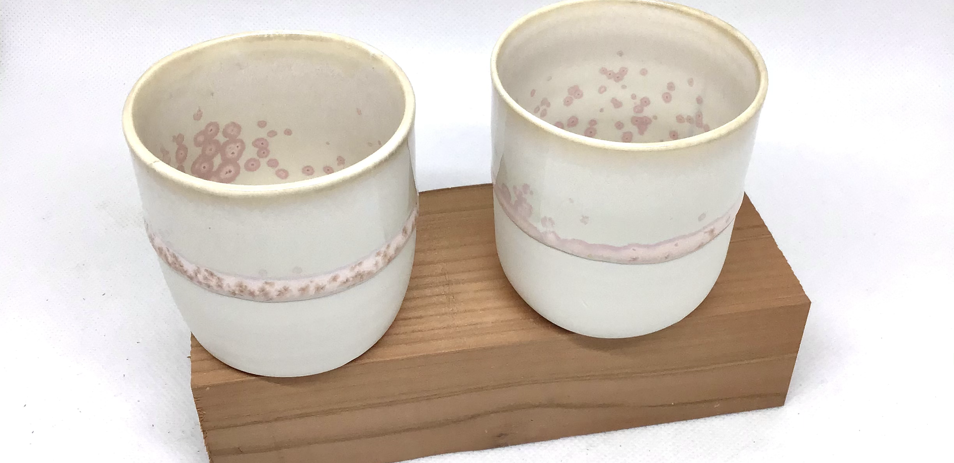 duo tasses porcelaine