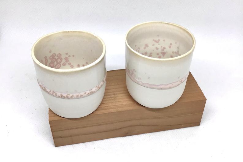duo tasses porcelaine