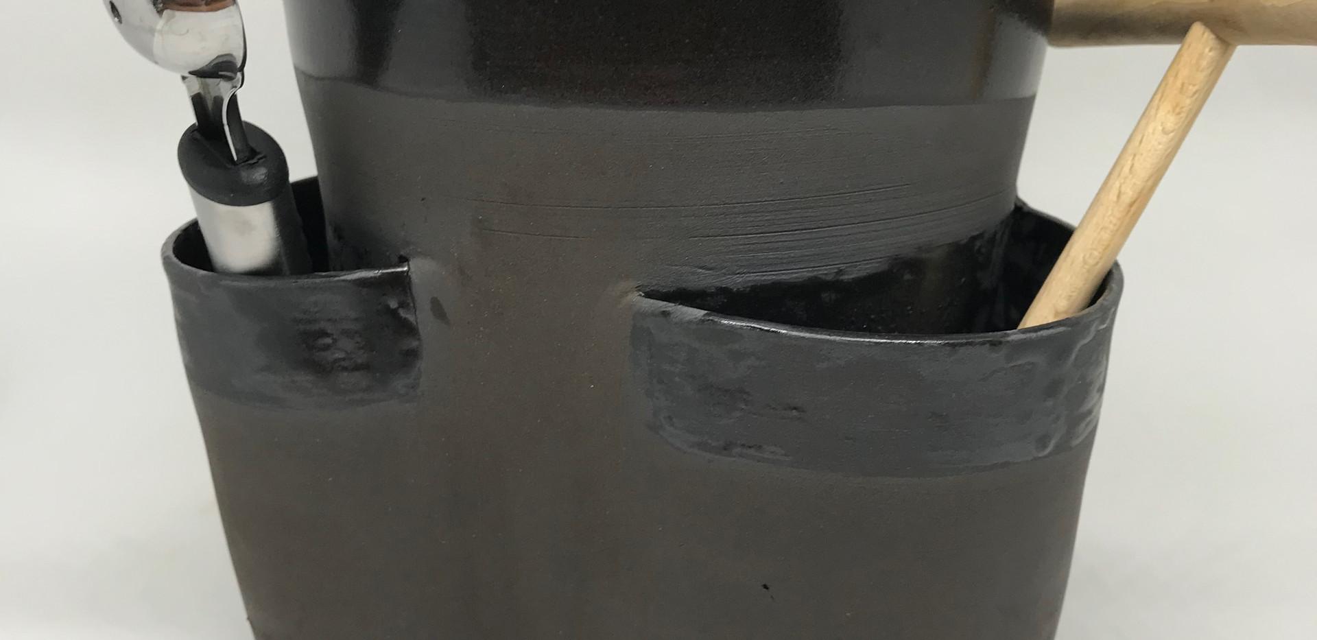 pot à couverts