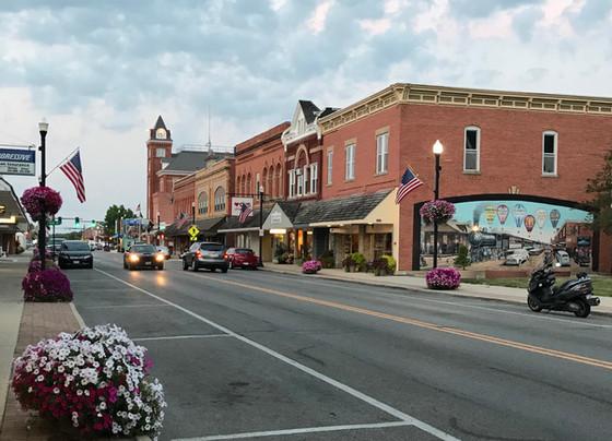 Main Street from Cherry