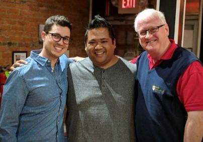 Orrie Augsburger, Eric Berdin, Gary Reese. 2018 Talk BACK series.