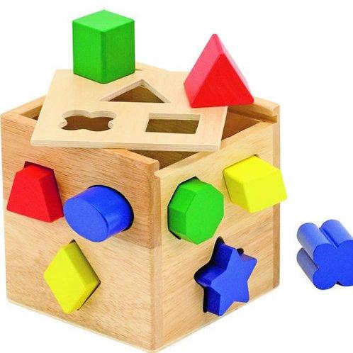 M&D – Shape Sorting Cube