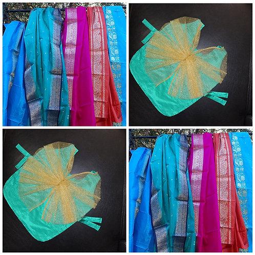 Saree/Fairy Dress Package 4 piece Set
