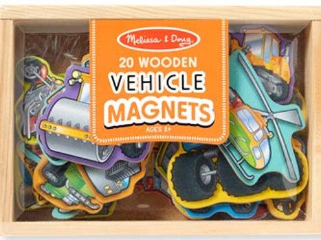 M&D – Magnetic Wooden Vehicles