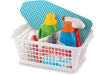 M&D - Laundry Basket Play Set