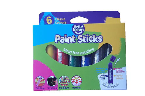 6 Paint Sticks