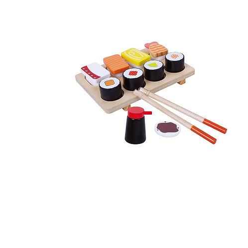 Wooden Sushi Set