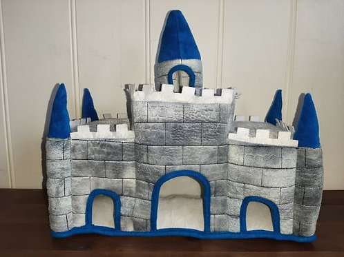 Felt Castle with Blue Turret