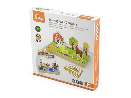 Viga Toys - Learning Space and Distance