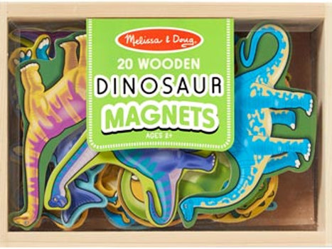 Melissa & Doug – Dinosaur Magnets In A Box of 20