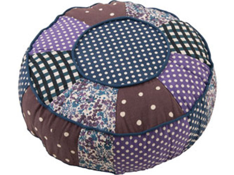 Colourful Fabric Pouf – 40cm