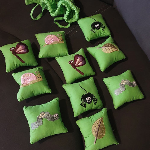 Insects Mix & Match Memory Game