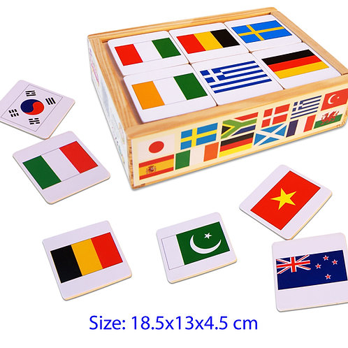 Memory Flag Game