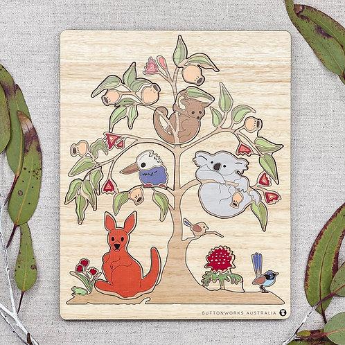 Wildlife Tree Puzzle