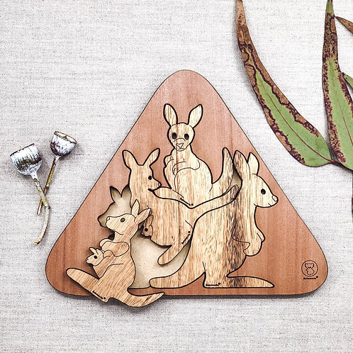 Kangaroo Huddle Puzzle