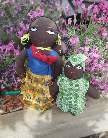 African Family Dolls